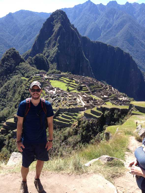 Picture of me at Machu Picchu